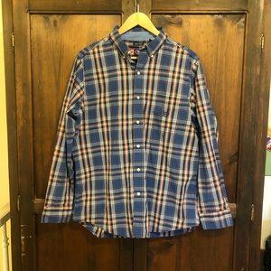 Chaps Plaid Easy Fit Button Down Shirt